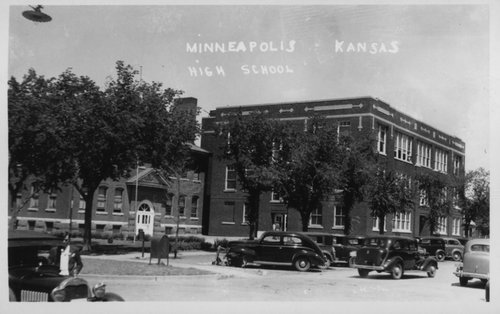 High school in Minneapolis, Kansas - Page