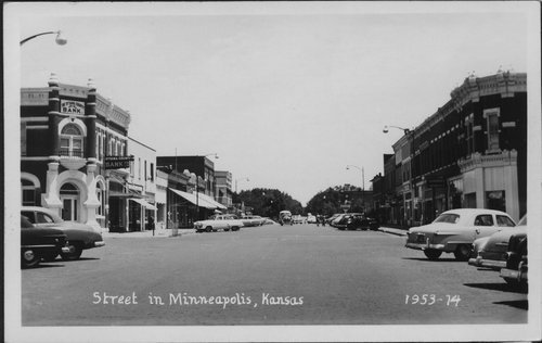 Second Street in Minneapolis, Kansas - Page