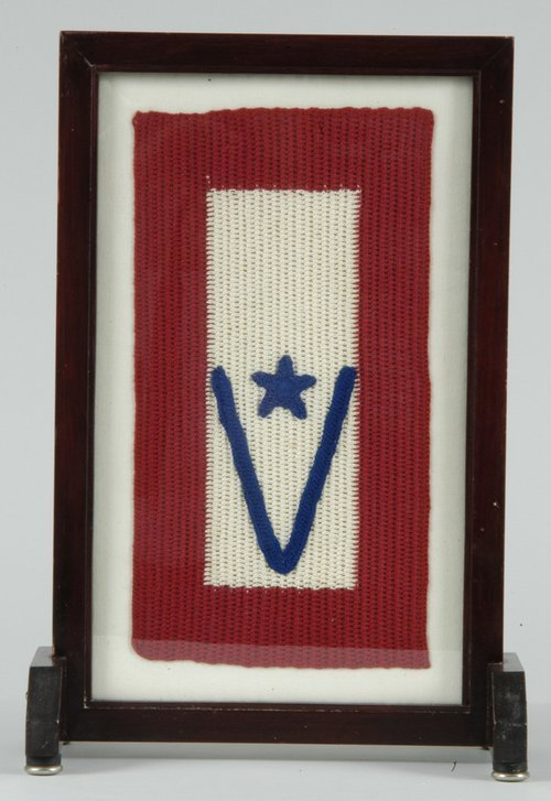World War II victory banner - Page