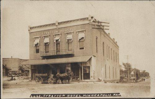Stratton Hotel in Minneapolis, Kansas - Page