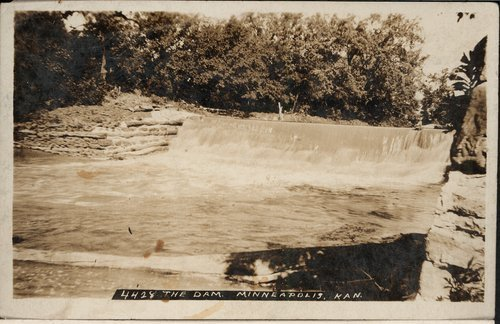 A dam at Minneapolis, Kansas - Page