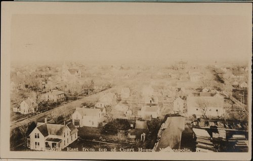 View of Minneapolis, Kansas - Page