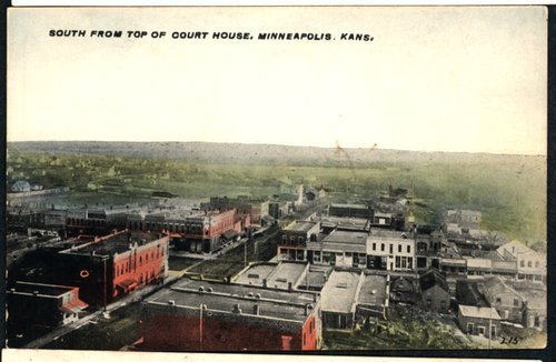 View of Minneapolis, Kansas - Page