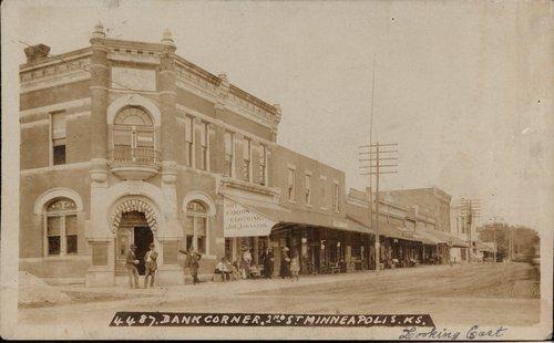 Bank in Minneapolis, Kansas - Page