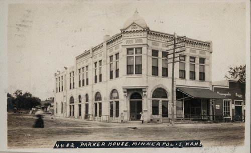 Parker House in Minneapolis, Kansas - Page