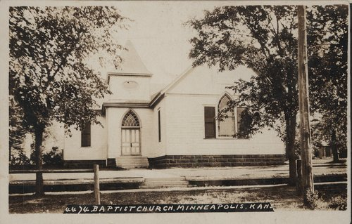 Baptist Church in Minneapolis, Kansas - Page