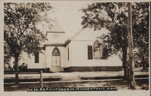 Baptist Church in Minneapolis, Kansas - Page