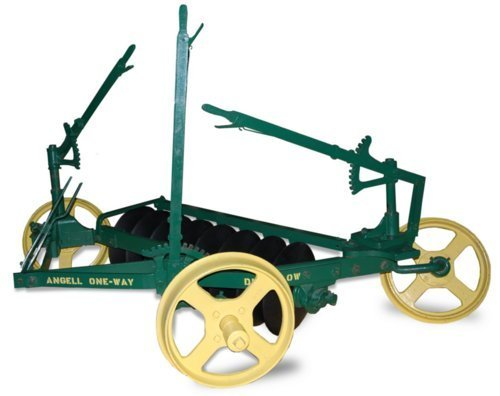 Photo of Angell's one way disc plow