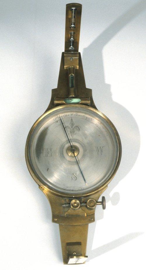 John Brown surveyor's compass - Page