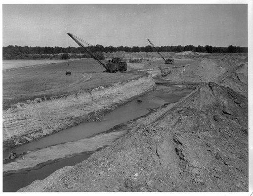 Strip pit mining, Cherokee County, Kansas - Page