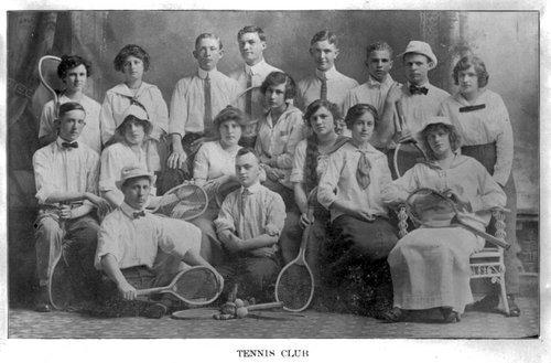 High school tennis club, Galena, Kansas - Page