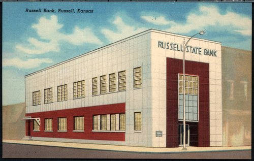 Russell State Bank in Russell, Kansas - Page