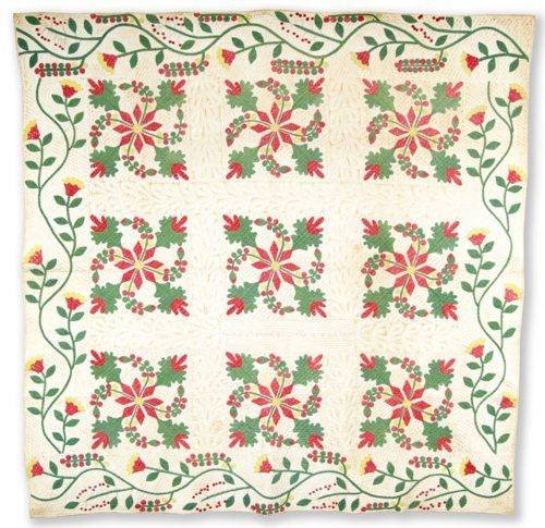 Coxcomb and Currents quilt - Page