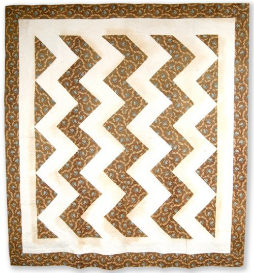 Lightning or Zigzag quilt - Page