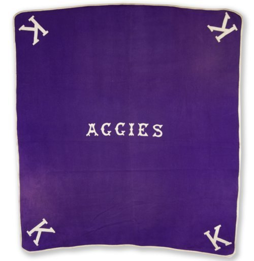 Kansas State Agricultural College horse blanket - Page