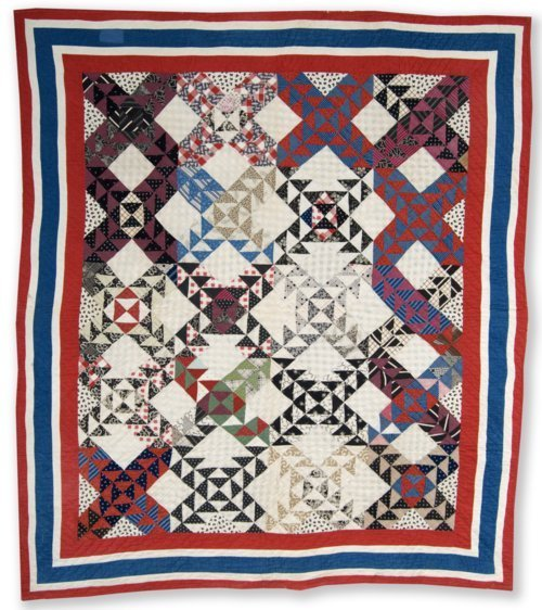 Old Maid's Ramble quilt - Page
