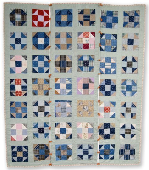 Shoo Fly or Double Monkey Wrench quilt - Page