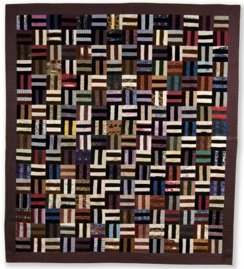 Roman Stripe or Rail Fence quilt - Page