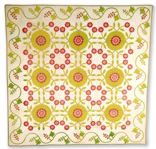 Rose of Sharon quilt - Page