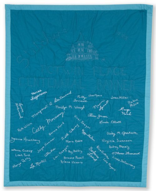 Potwin Place centennial banner - Page