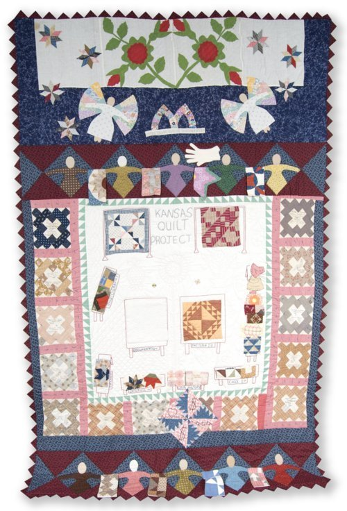 Kansas Quilt Project commemorative quilt - Page