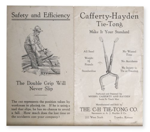 Cafferty-Hayden Tie-Tong brochure - Page