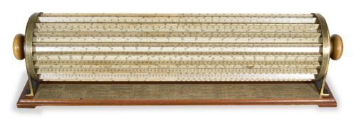 Thacher's calculating instrument - Page