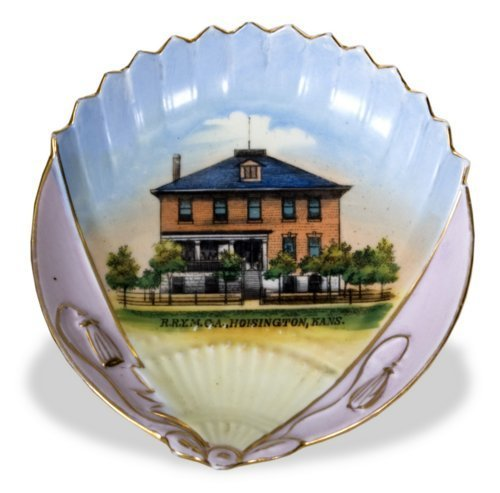 Railroad Y.M.C.A. commemorative dish - Page
