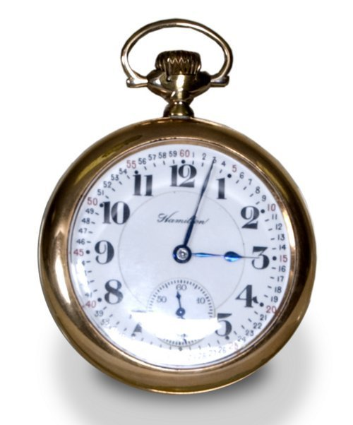 Railroad pocket watch - Page