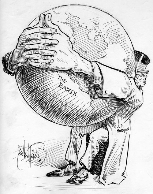 J.P. Morgan cartoon - Page