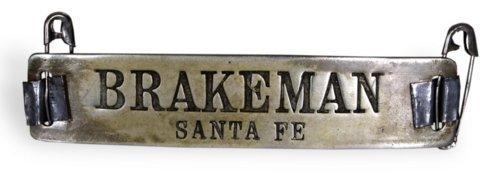 AT & SF Railway brakeman's pin - Page