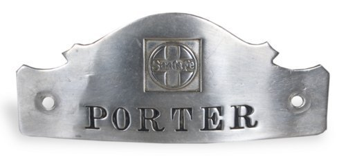 AT & SF Railway porter's pin - Page