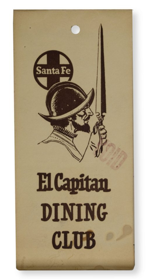 El Capitan Dining Club coupon booklet - Page