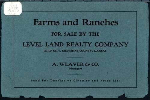 Farms and ranches for sale by the Level Land Realty Company - Page