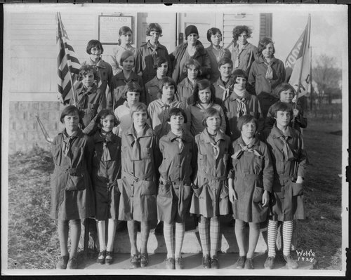 Kaw Valley Girl Scouts, Topeka, Kansas - Page