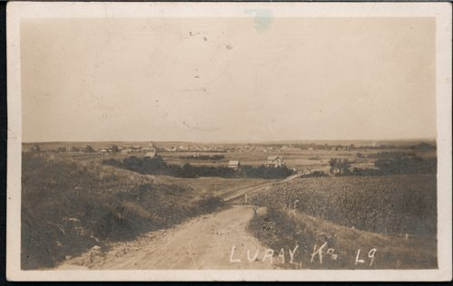 View of Luray, Kansas - Page