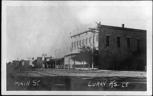 Main Street, Luray, Kansas - Page