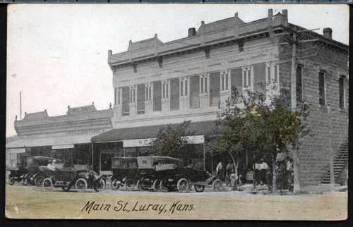 Main Street, Luray, Kansas - Page