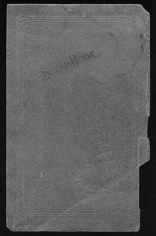 Lillian D. Foster dust storm scrapbook - Page