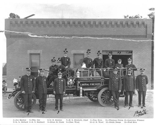 Liberal Fire Department, Liberal, Kansas - Page