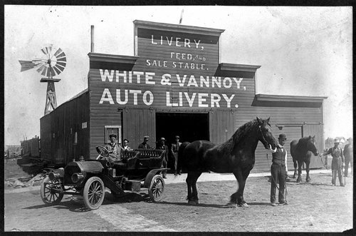 White and Van Noy Auto Livery, Tribune, Kansas - Page