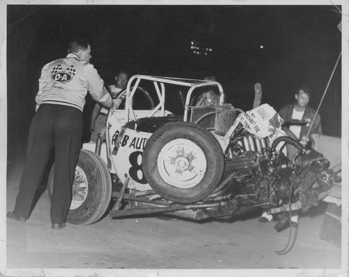 Wrecked race car - Page