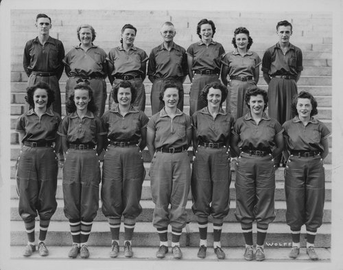 Marling Chesney  women's softball team, Topeka, Kansas - Page