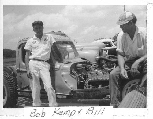 Race cars at Shawnee Speedway near Topeka, Kansas - Page