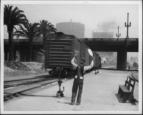 Atchison, Topeka & Santa Fe Railway Company brakeman - Page