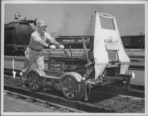 Atchison, Topeka & Santa Fe Railway Company signal maintainer - Page