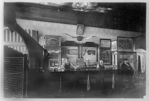 Billy Bader's and Louie Laubner's saloon in Dodge City, Kansas - Page