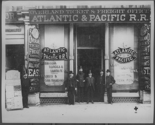 Atlantic & Pacific Railroad  office - Page