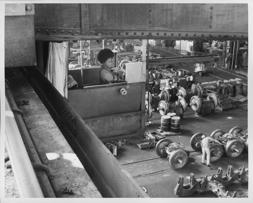 Atchison, Topeka and Santa Fe Railway Company worker - Page