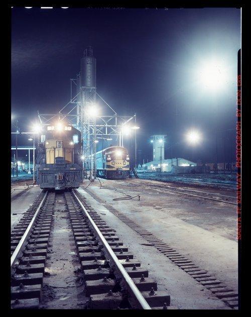 Atchison, Topeka & Santa Fe Railway Company's sanding facilities, Clovis, New Mexico - Page